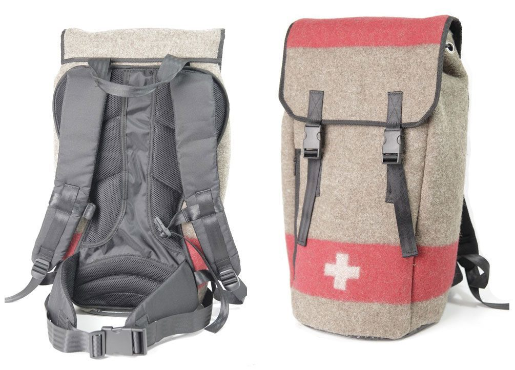 swiss army rucksack deluxe swissmountain handbags. Black Bedroom Furniture Sets. Home Design Ideas